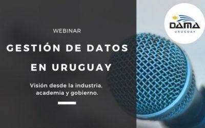 Nuevo Webinar organizado por DAMA Uruguay