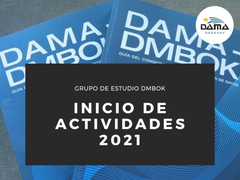 Inicia el Grupo de Estudio de Gestión de Datos 2021