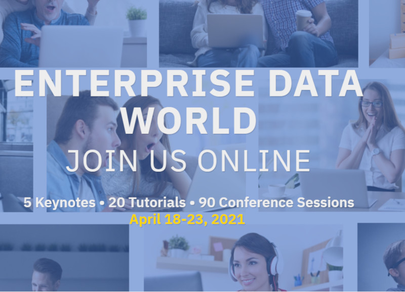 Llega el Enterprise Data World 2021