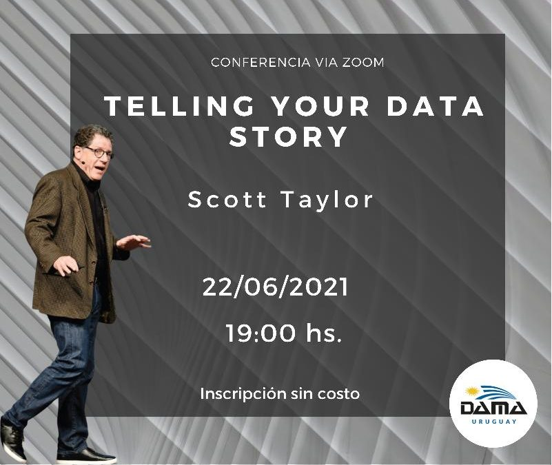 Conferencia de Scott Taylor – Telling Your Data Story