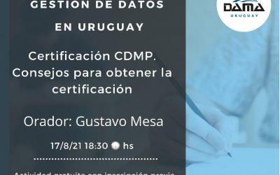 Webinar: Consejos para obtener la certificación CDMP