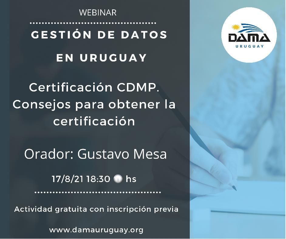 certificacion cdmp