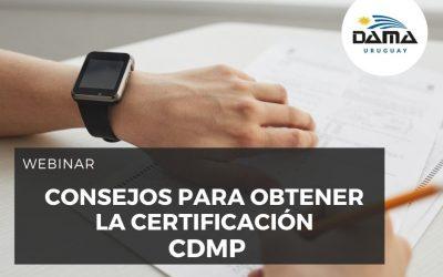 Consejos para obtener la certificación CDMP